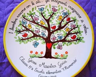 custom ceramic gift plate