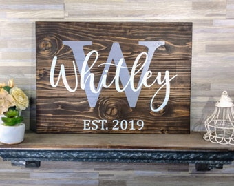 New Home Gift | Closing Gift | New House | First Home | Rustic Home Decor | Custom Home Gift | Our First Home | New Homeowner | Couple Gift