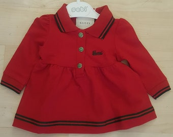 db72100ce9e Gucci style Baby Grils dress NWT