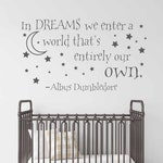 Dreams Wall Quote Decal Dream Family Quotes Sticker for Nursery, Kids Room, Office, Bedroom, Living-room Quotes Wall Decor