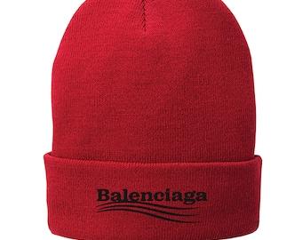 cba9b6aadab Balenciaga Winter Hat - Skull Cap - Beanie Black 2960