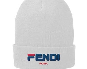 Fila Fendi Roma Winter Hat - Skull Cap - Beanie 80ad55485c3
