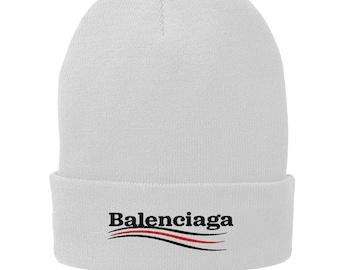 57a18fc2763 Balenciaga Winter Hat - Skull Cap - Beanie Black 2870