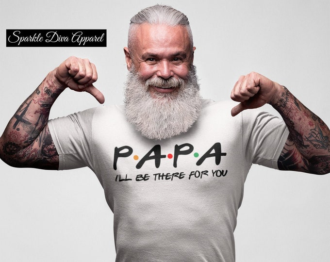 P.A.P.A. Men White T-Shirt