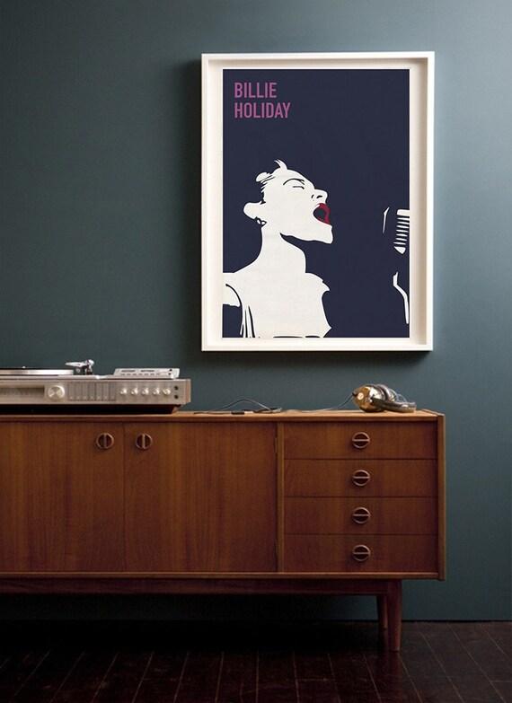 Charles Mingus Vintage Jazz Minimalist Poster 24x36