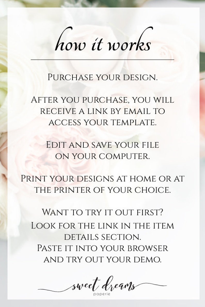 Printable Blush and Gold Wedding Place Card Template Wedding Table Name Cards DIY Wedding Escort Cards Sophia Suite