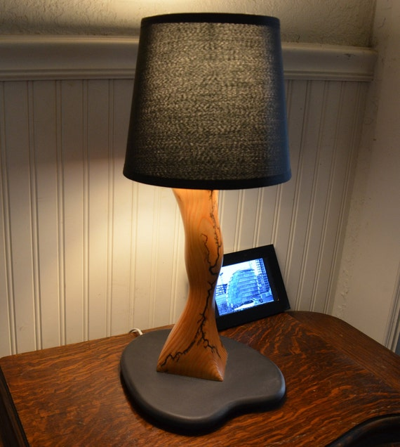Lamp, Table lamp, Unique lamps, Wood table lamps