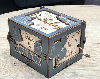 Custom Music Box Etsy