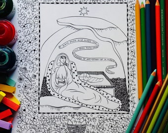 Castles and Knights color page - Coloring pages for kids - Fantasy ... | 270x340
