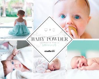 Mobile Lightroom preset, Baby lightroom preset, Mobile & Desktop preset, Instagram Βlogger preset, Best lightroom preset, Newborn preset