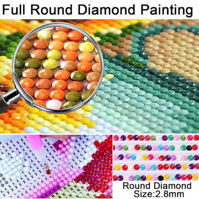 5D Diamond Painting  Cartoon Boy And Music Full SquareRound Drill Cross Stitch Kits DIY Mosaic Embroidery Home Decoration Bedroom Wall