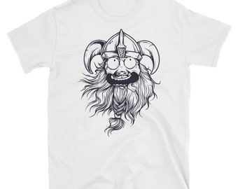 f7ca2cbe4dc5f Viking Cartoon Short-Sleeve T-Shirt