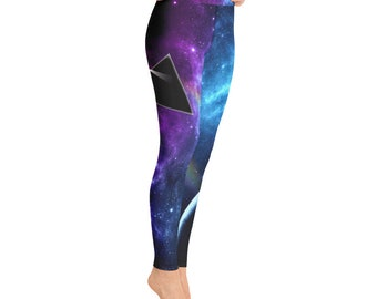 76afdd4443dfe Pink Floyd - The other side of the Moon - Yoga Leggings