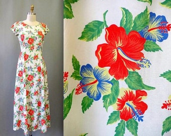 Hawaiian Vintage Cocktail Dresses