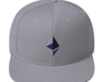 82f04a6fc73b1 Ethereum Blockchain cryptocurrency Snapback Hat