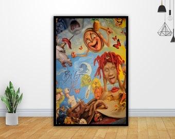 14x21 24x36 Art Gift X-1707 New Lil Uzi Vert Rap Hip Hop Music Star Poster