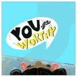 You Are Worthy Flat Cards