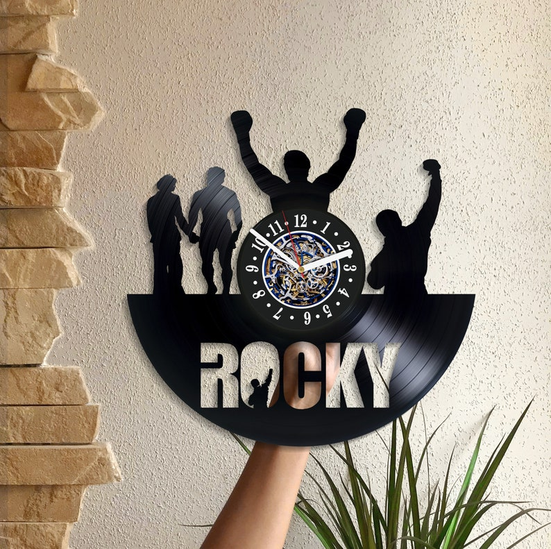 "<Span Data Preview Title="""">Rocky Wall Art Birthday Gift For Him Lp Retro Vinyl Record Movie Art Sylvester S...</Span>          <Span Data Full Title="""" Aria Hidden=""True"" Class=""Display None"">Rocky Wall Art Birthday Gift For Him Lp Retro Vinyl Record ... by Etsy"