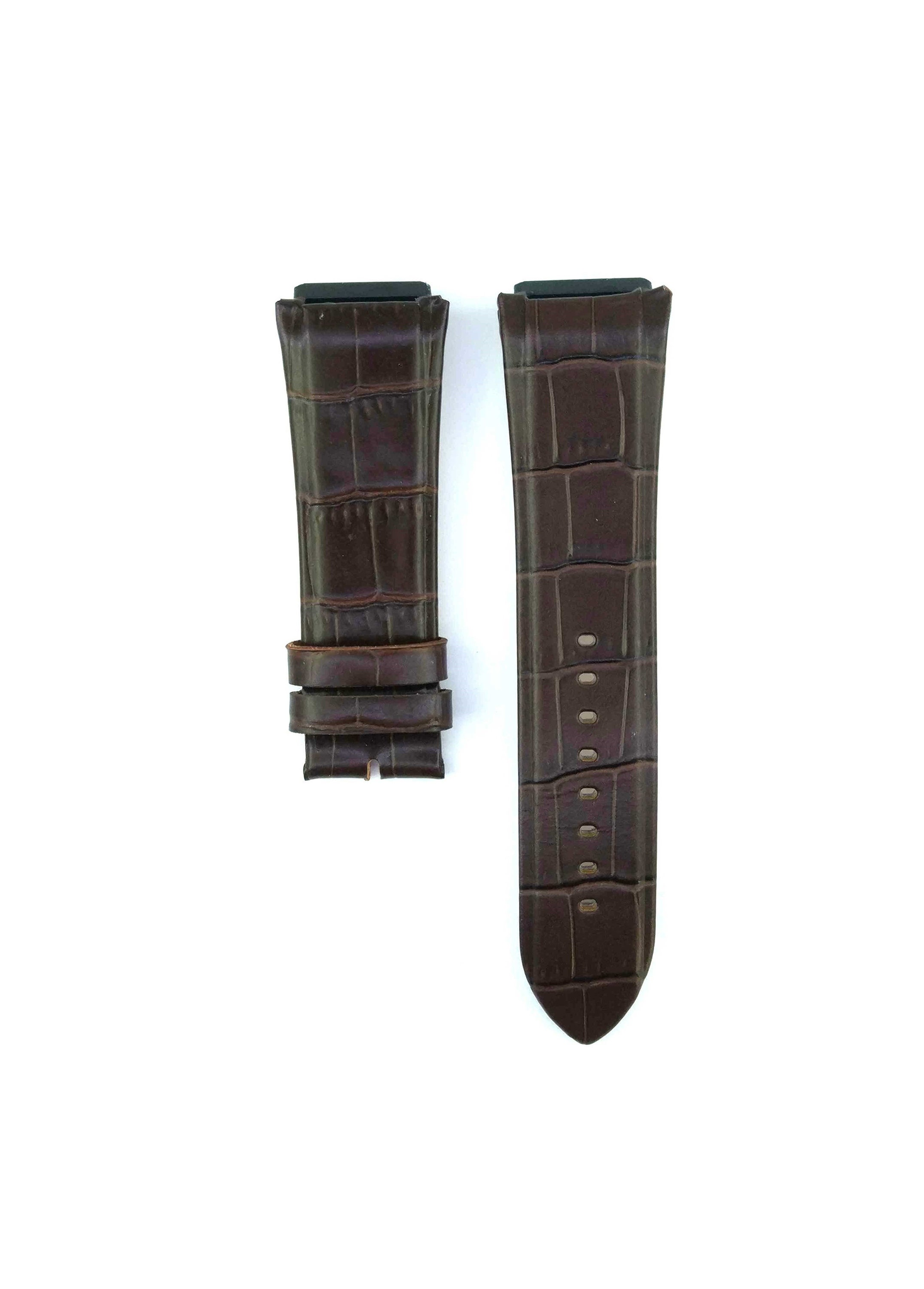 22mm Fit For Guess W0040G8 Brown Leather Watch Band Strap Free Spring BAR Tool 477GSS