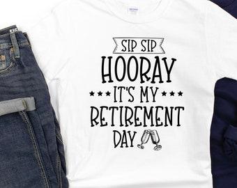 Comical Shirt Ladies Sip Sip Hooray Rocker
