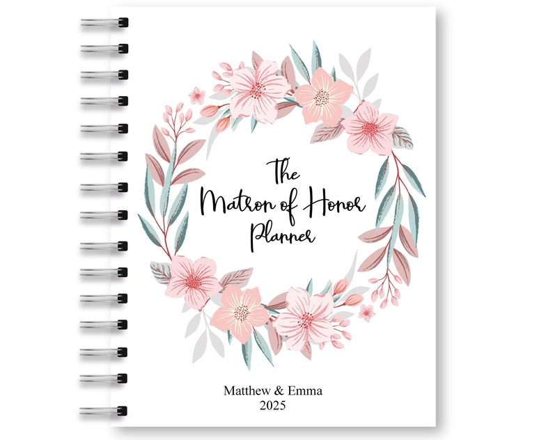 image regarding Maid of Honor Printable Planner identify Matron of Honor Planner Printable Maid of Honor Organizer Do it yourself Printable Planner Wedding day Planner PDF Wedding day E book PDF Wedding day