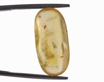 Art Deco Old Soviet Latvian Folk Ethnic Jewelry Natural Baltic Amber gems SAKTA Pin Brooch Charm 12 g