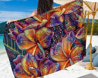b4f6593b80813 Floral Sarong, Beach Sarong, Sarong Wrap, Beach Sarongs, Sarong Wrap Skirt, beach  cover up,beach dress,wrap skirt, wrap dress