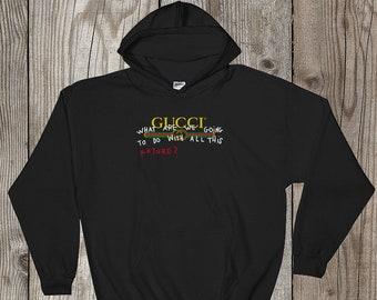 3c37723ae Gucci Hoodie, Gucci Future Sweater, Gucci Sweatshirt, Gucci Pullover Hoody  Hoodie, Designer Men Women Clothing, Gucci Inspired, Unisex