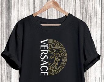 2e3fd849fd6 Versace T-shirt, Versace Medusa Shirt, Versace Tshirt For Men Women, Versace  Inspired, Versace Shirt, Versace Clothing, Designer
