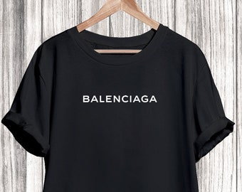 a47b23fd Balenciaga Shirt, Balenciaga Logo Tshirt, Balenciaga Tshirt For Men Women  Kids, Unisex Balenciaga Shirt, Balenciaga Inspired, Balenciaga