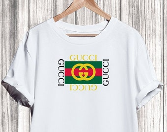 193029691f47 Gucci Shirt Shirt, Gucci Square Tshirt, Gucci Tshirt For Men Women Kid,  Unisex Gucci Shirt, Gucci Clothing, Designer Tshirt, Luxury Shirt