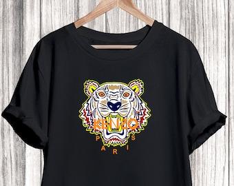 44fc0c2c Kenzo Shirt, Kenzo Tiger Tshirt, Kenzo Tshirt For Men Women Kid, Unisex Kenzo  Shirt, Kenzo Clothing, Designer Tshirt, Luxury Shirt