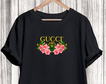67028a50 Gucci Tshirt Shirt Shirt, Gucci Flowers Tshirt, Gucci Tshirt For Men Women  Kid, Unisex Gucci Shirt, Gucci Clothing, Designer Tshirt, Luxury