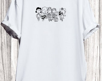 e56b5f9b1 Snoopy T-shirt, Snoopy And Friends Sing Dance Team_KK015633 Shirt, Snoopy  Tshirt For Men Women, Snoopy Inspired, Snoopy t shirt, Cartoon