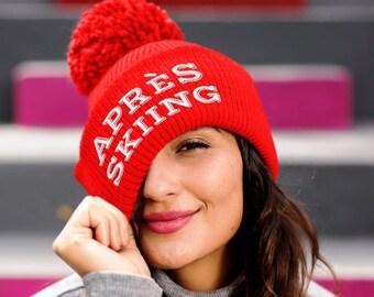 Apres Ski Hat Embroidered  Apres Ski Hat adcd22c1493