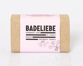 BADELIEBE - Geranie Olive & Cocoa Oil Soap