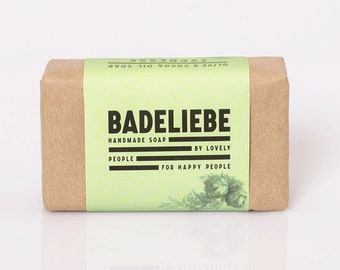 BADELIEBE - Cypress Olive & Coconut Oil Soap