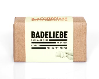 BADELIEBE - BERGAMOTTE+INGWER Olive&Coconut Oil Soap