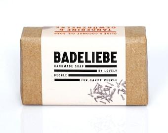 BADELIEBE - TANGERINE+GEWÜRZNELKE Olive&Coconut Oil Soap