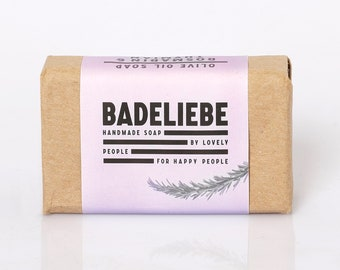 BADELIEBE - Rosemary & Thyme Olive Oil Soap