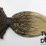 Full Set Ombre Brown & Blonde Crochet Dreads. SE, DE Dreads or Mix , 20 Inches.