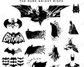 Batman Svg File Etsy