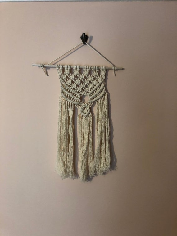 DIY Macrame Wall Hanging Beginners Tutorial Kit