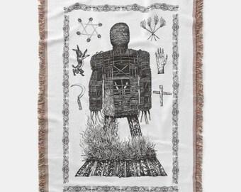 The Wicker Man – Woven Blanket