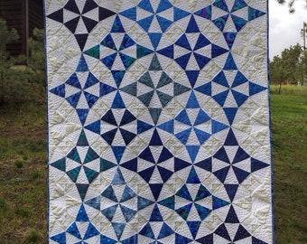 Evening Primrose in Bloom Quilt Pattern PDF