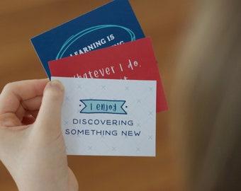 Affirmation Cards for Kids – Printable