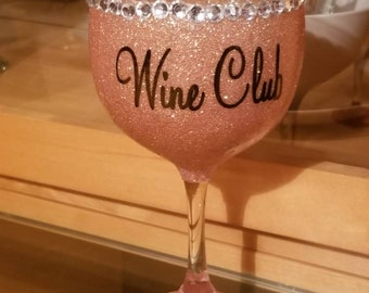 785cde2c428 Bling drinking glass