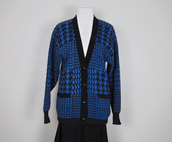 Vintage Bally of Switzerland cardigan wool with le
