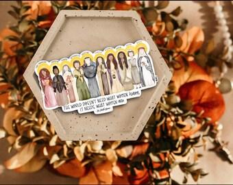 Women Saints Sticker // Saint Sticker // Saint Decal // Catholic Sticker // Catholic Gift