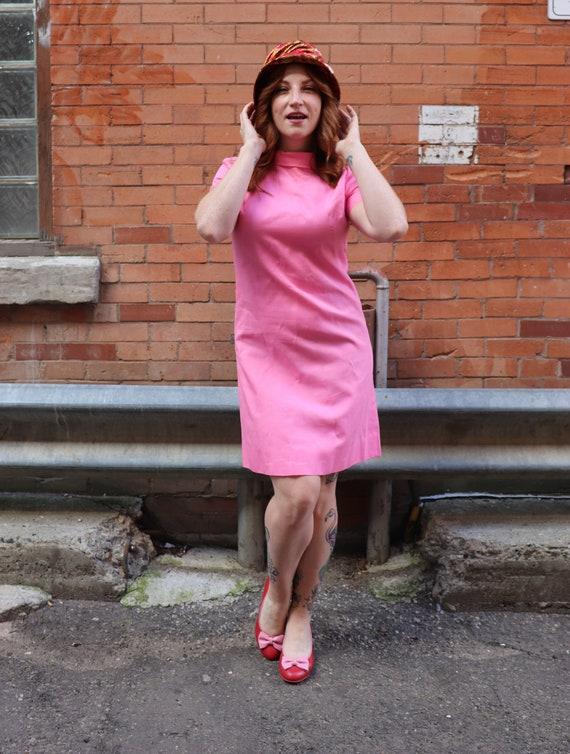 1960s Bubblegum Pink Dress   Small - Medium
